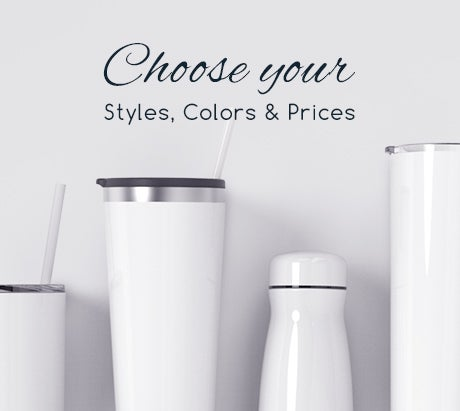 Choose Your Own colors, style and price